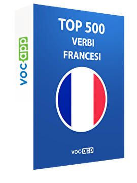 Top 500 verbi francesi