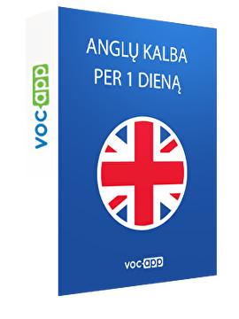 Anglų kalba per 1 dieną