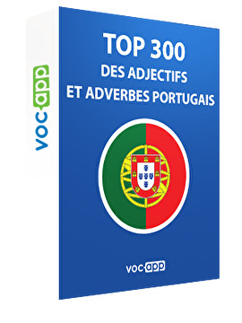 Top 300 des adjectifs et adverbes portugais