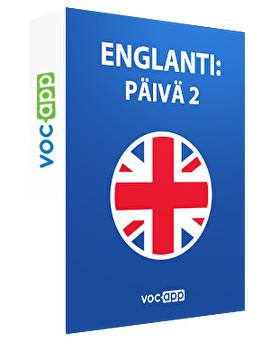 Englanti: päivä 2