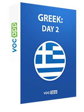 Greek: day 2