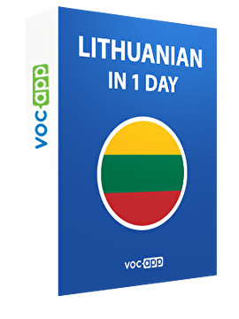 Lithuanian in 1 day