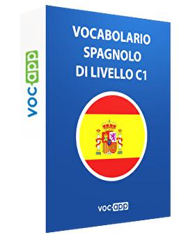 Vocabolario spagnolo di livello C1