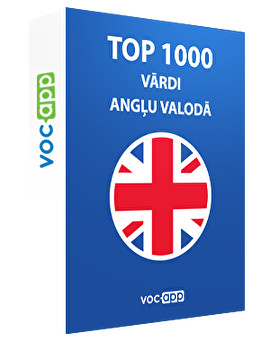 Top 1000 vārdi angļu valodā