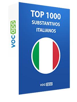 Top 1000 substantivos italianos