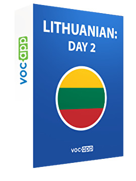 Lithuanian: day 2