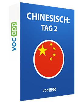 Chinesisch: Tag 2