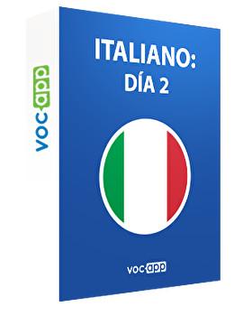 Italiano: día 2