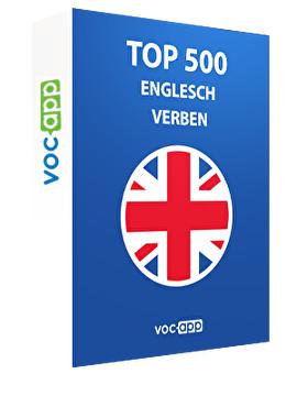 Top 500 Englesch Verben