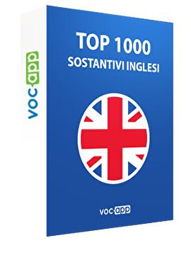 Top 1000 sostantivi inglesi