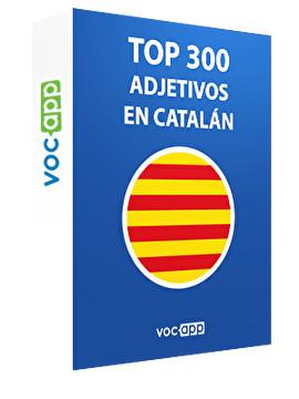 Top 300 adjetivos en catalán