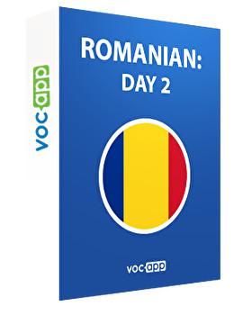 Romanian: day 2