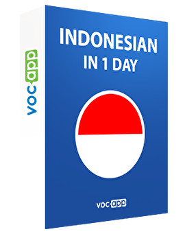 Indonesian in 1 day