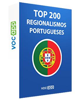 Top 200 regionalismos portugueses