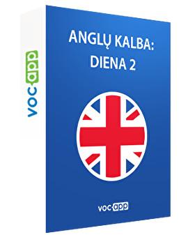 Anglų kalba: diena 2