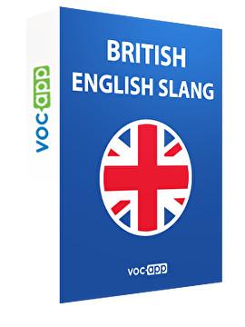 British English slang