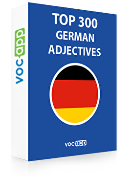 German Words: Top 300 Adjectives