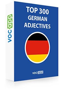 German Words: Top 300 Adjectives