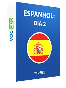 Espanhol: dia 2