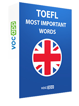 TOEFL - Most important words