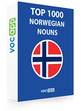 Norwegian Words: Top 1000 Nouns