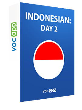 Indonesian: day 2