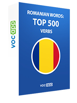 Romanian Words: Top 500 Verbs