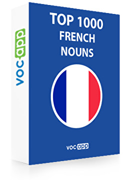 French Words: Top 1000 Nouns