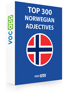 Norwegian Words: Top 300 Adjectives