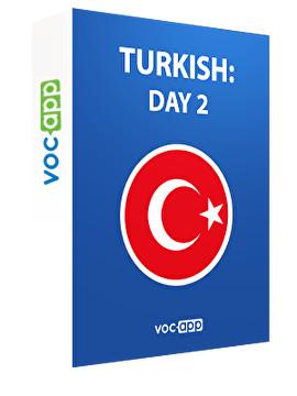 Turkish: day 2