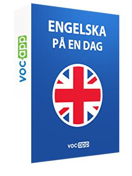 Engelska på 1 dag