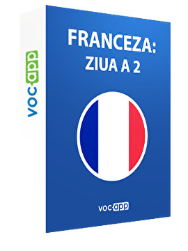 Franceza: ziua a 2