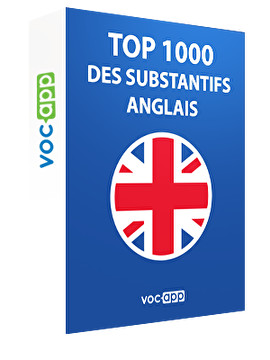 Top 1000 de substantifs anglais