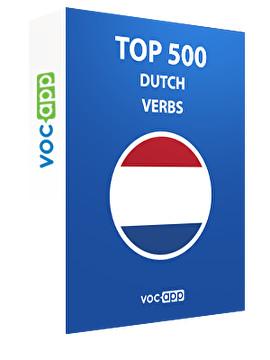 Top 500 Dutch verbs