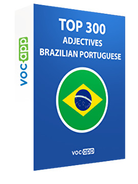 Brazilian Portuguese Words: Top 300 Adjectives