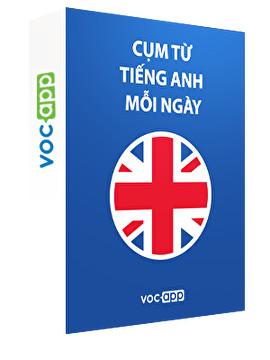 Cụm từ tiếng Anh mỗi ngày