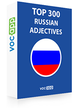 Russian Words: Top 300 Adjectives