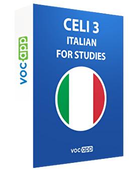 CELI 3 - Italian for university
