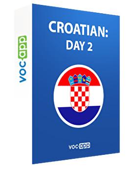 Croatian: day 2