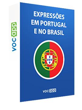 Expressões em Portugal e no Brasil