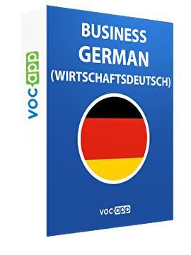 Business German (Wirtschaftsdeutsch)