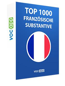 Top 1000 französische Substantive
