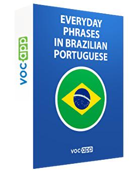 Everyday phrases in Brazilian Portuguese