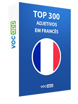 Top 300 adjetivos em francês
