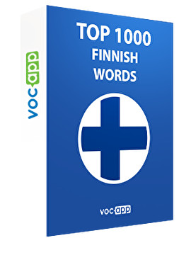 Top 1000 Finnish words