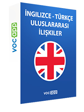 İngilizce - Türkçe Uluslararası İlişkiler