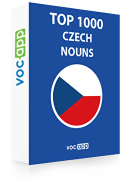 Czech Words: Top 1000 Nouns