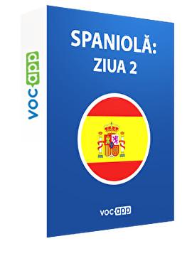 Spaniolă: ziua 2
