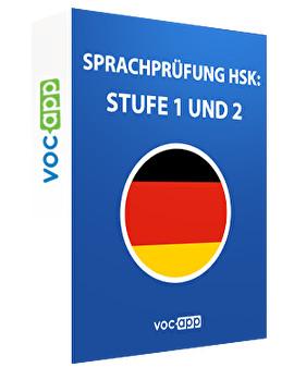 Sprachprüfung HSK: Stufe 1 und 2