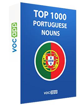 Portuguese Words: Top 1000 Nouns